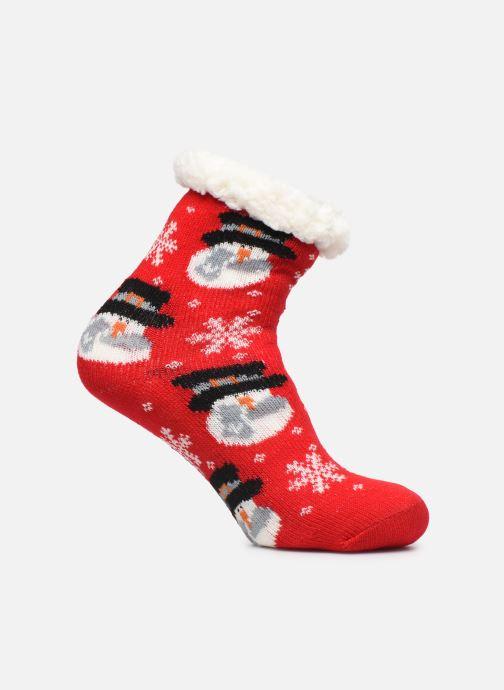 Chaussettes et collants Sarenza Wear Mi-chaussettes Noel femme Rouge vue détail/paire