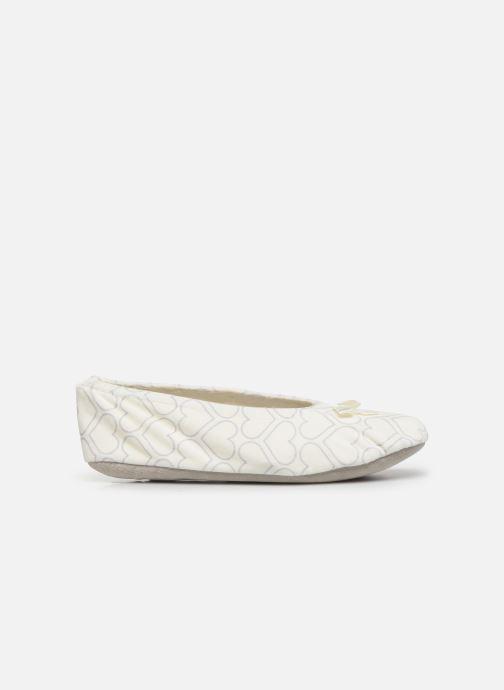 Pantofole Sarenza Wear Chaussons ballerines coeur Femme Bianco immagine posteriore