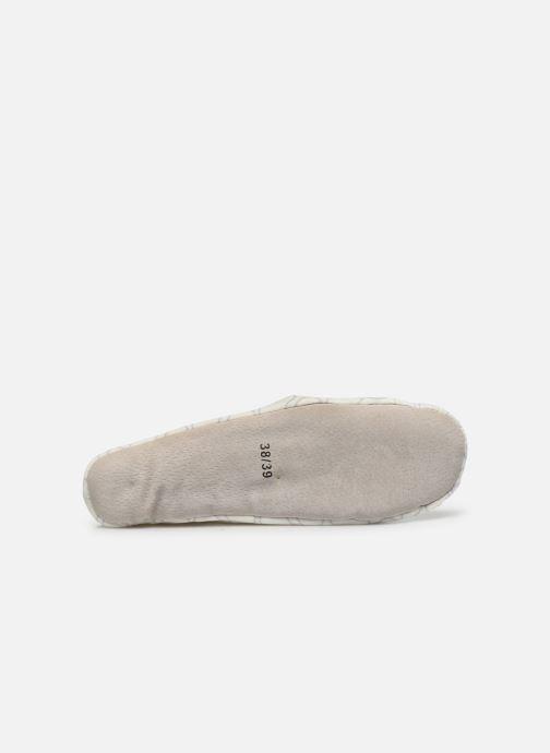 Pantofole Sarenza Wear Chaussons ballerines coeur Femme Bianco immagine dall'alto