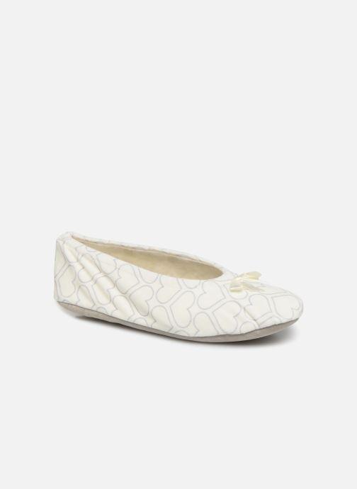 Pantofole Sarenza Wear Chaussons ballerines coeur Femme Bianco vedi dettaglio/paio