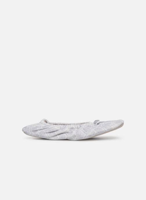 Pantofole Sarenza Wear Chaussons ballerines coeur Femme Grigio immagine posteriore