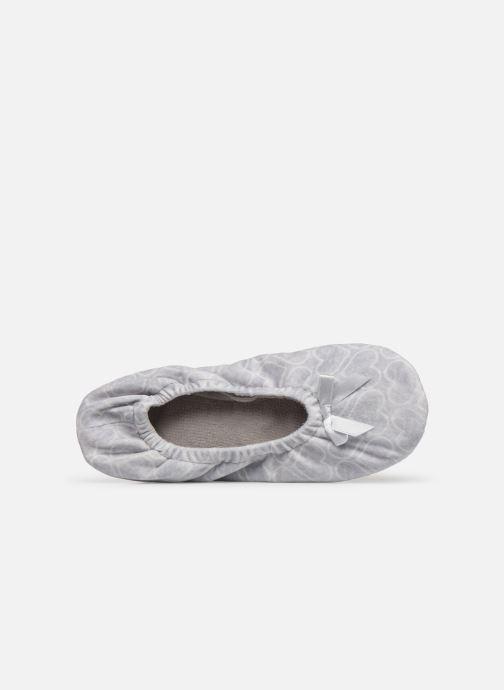 Pantofole Sarenza Wear Chaussons ballerines coeur Femme Grigio immagine sinistra