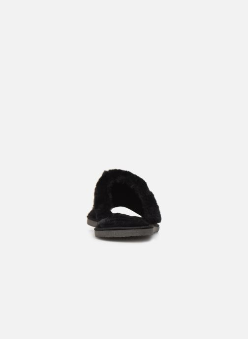 Hausschuhe Sarenza Wear Chaussons Mules fourrés tout foux Femme schwarz ansicht von rechts