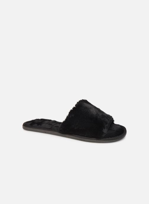 Hausschuhe Sarenza Wear Chaussons Mules fourrés tout foux Femme schwarz detaillierte ansicht/modell