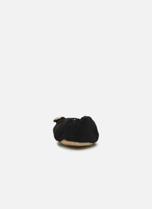 Pantuflas Sarenza Wear Chaussons lapin femme Negro vista lateral derecha
