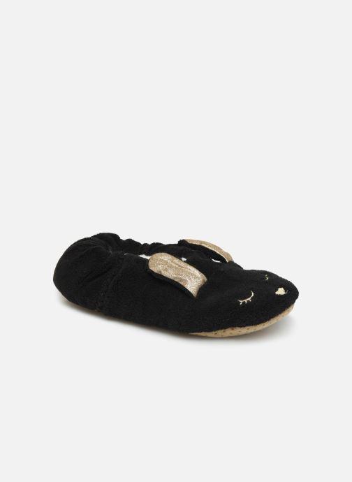 Pantuflas Sarenza Wear Chaussons lapin femme Negro vista de detalle / par