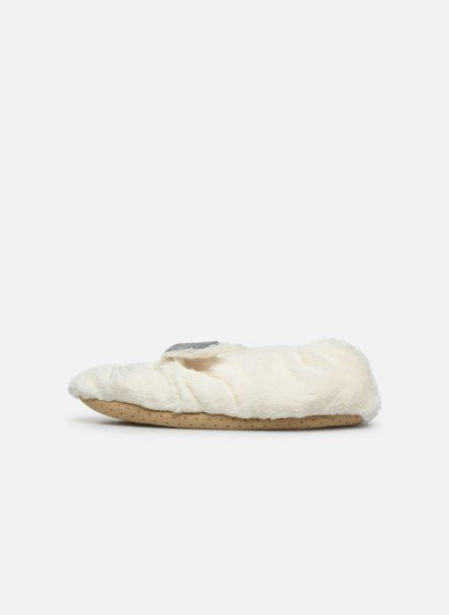 Pantuflas Sarenza Wear Chaussons lapin femme Blanco vista de frente