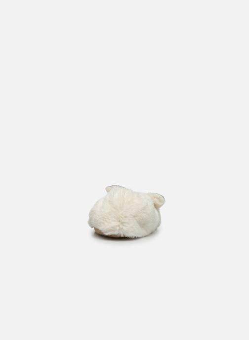 Pantuflas Sarenza Wear Chaussons lapin femme Blanco vista lateral derecha