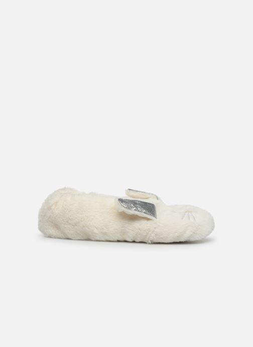 Pantuflas Sarenza Wear Chaussons lapin femme Blanco vistra trasera