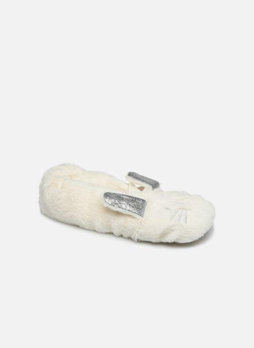 Pantuflas Sarenza Wear Chaussons lapin femme Blanco vista de detalle / par