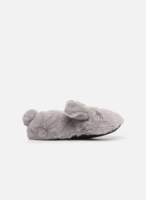 Pantoffels Sarenza Wear Chaussons animal fille Grijs achterkant