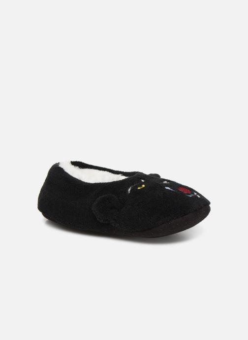 Hjemmesko Sarenza Wear Chaussons Monstre Enfant Garçon Sort detaljeret billede af skoene