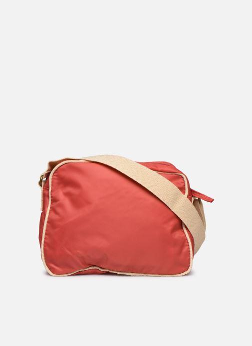 Bolsos de mano Bensimon Small Besace Colorline Rojo vista de frente