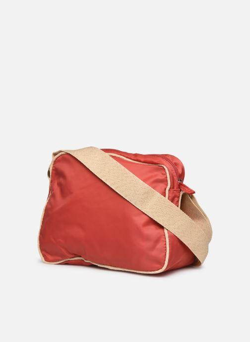 Bolsos de mano Bensimon Small Besace Colorline Rojo vista lateral derecha