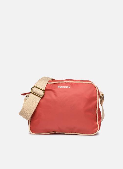 Bolsos de mano Bensimon Small Besace Colorline Rojo vista de detalle / par