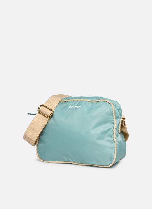 Handtaschen Bensimon Small Besace Colorline blau schuhe getragen