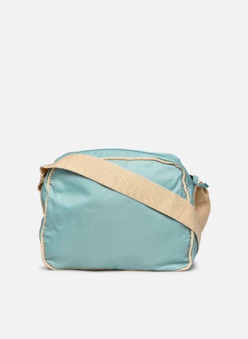 Bolsos de mano Bensimon Small Besace Colorline Azul vista de frente