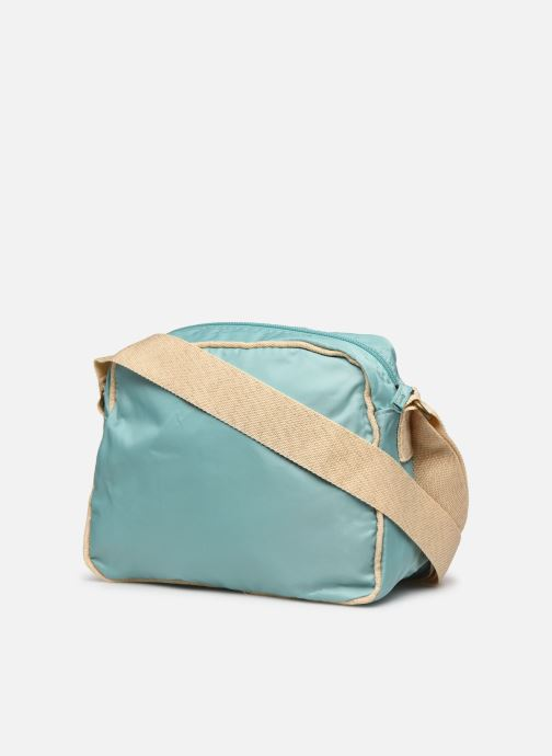 Handtaschen Bensimon Small Besace Colorline blau ansicht von rechts