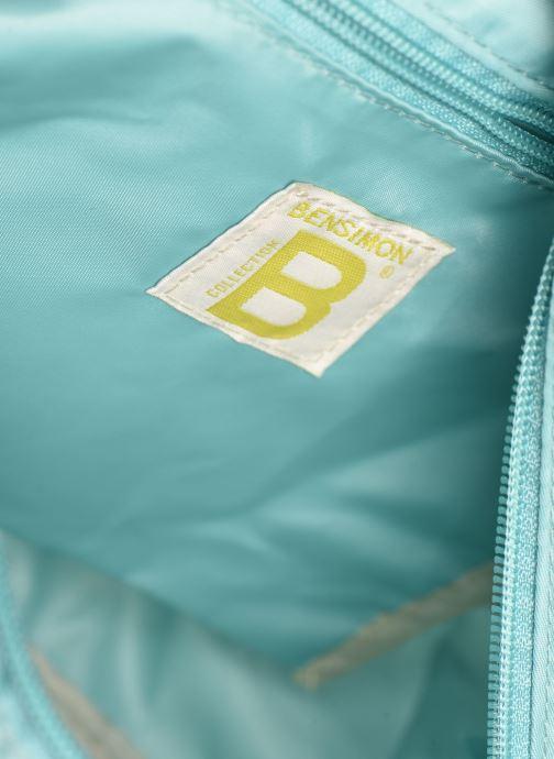 Handtaschen Bensimon Small Besace Colorline blau ansicht von hinten