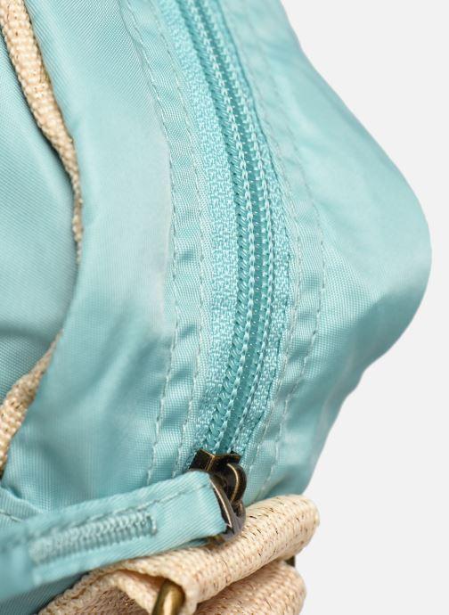 Handtaschen Bensimon Small Besace Colorline blau ansicht von links