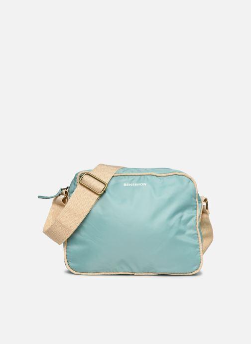 Bolsos de mano Bensimon Small Besace Colorline Azul vista de detalle / par