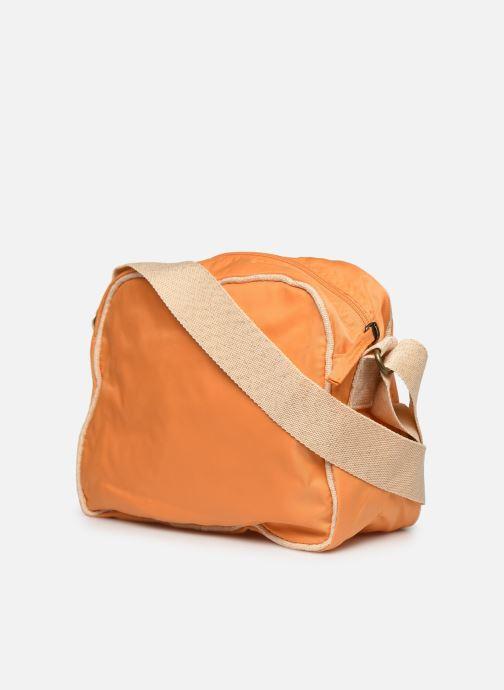 Handtaschen Bensimon Small Besace Colorline orange ansicht von rechts