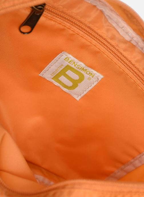 Handtaschen Bensimon Small Besace Colorline orange ansicht von hinten
