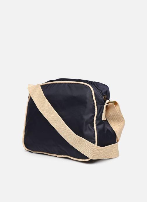 Bolsos de mano Bensimon Small Besace Colorline Azul vista lateral derecha