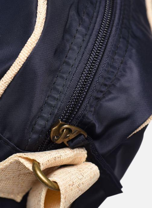 Bolsos de mano Bensimon Small Besace Colorline Azul vista lateral izquierda