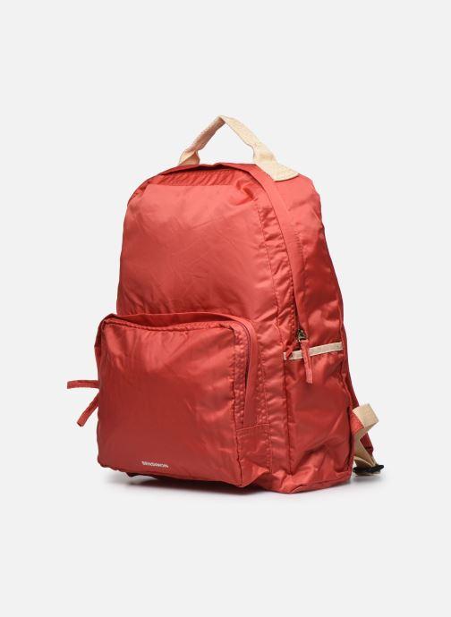Rucksäcke Bensimon Backpack Colorline rosa schuhe getragen
