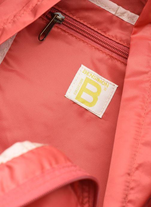 Rucksäcke Bensimon Backpack Colorline rosa ansicht von hinten