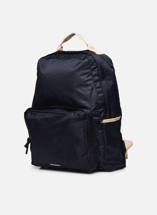 Sacs à dos Bensimon Backpack Colorline Bleu vue portées chaussures