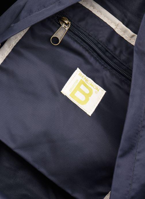 Sacs à dos Bensimon Backpack Colorline Bleu vue derrière