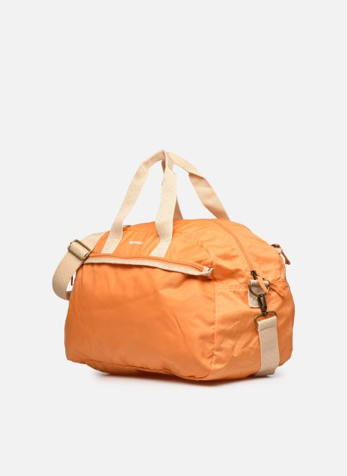 Bolsos de mano Bensimon Sport Bag Colorline Naranja vista del modelo