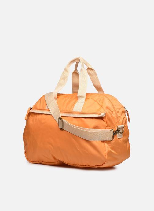 Bolsos de mano Bensimon Sport Bag Colorline Naranja vista lateral derecha