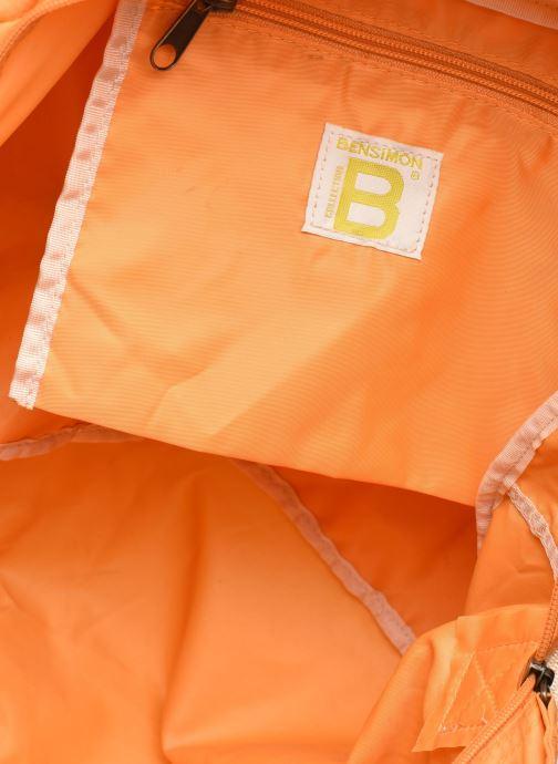 Bolsos de mano Bensimon Sport Bag Colorline Naranja vistra trasera