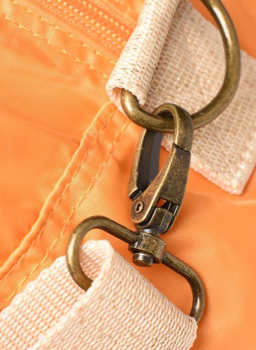 Bolsos de mano Bensimon Sport Bag Colorline Naranja vista lateral izquierda