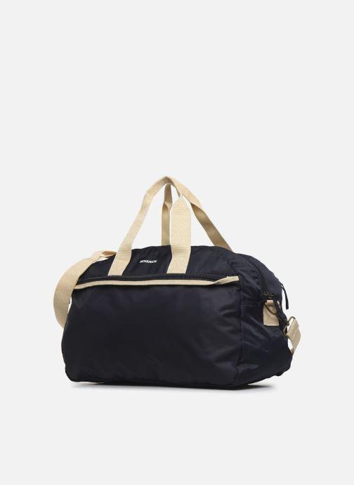 Sacs de sport Bensimon Sport Bag Colorline Bleu vue portées chaussures