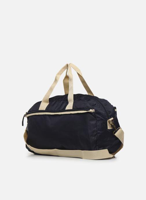 Sacs de sport Bensimon Sport Bag Colorline Bleu vue droite
