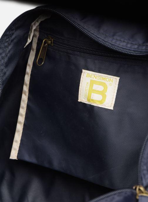 Sacs de sport Bensimon Sport Bag Colorline Bleu vue derrière