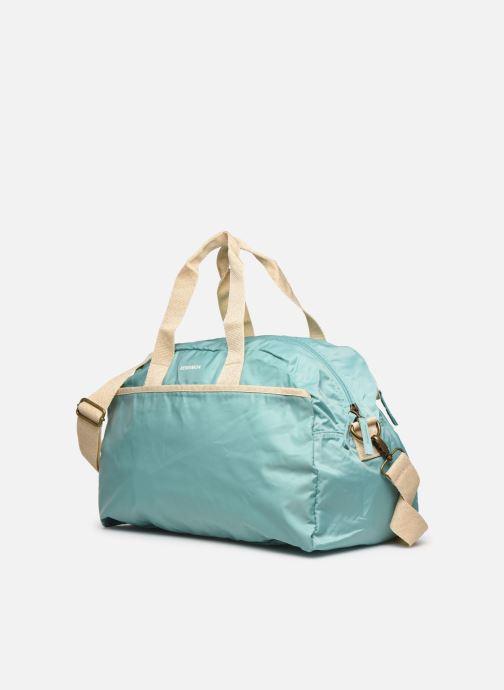 Bolsas de deporte Bensimon Sport Bag Colorline Azul vista del modelo