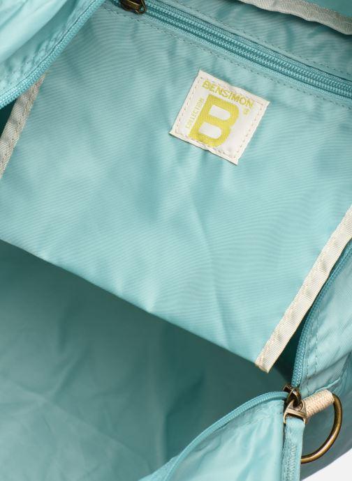 Bolsas de deporte Bensimon Sport Bag Colorline Azul vistra trasera