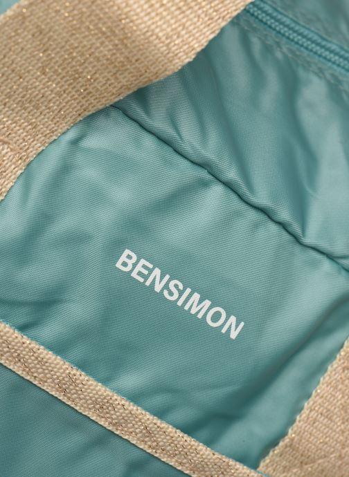 Bolsas de deporte Bensimon Sport Bag Colorline Azul vista lateral izquierda