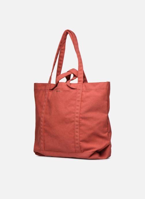 Handtaschen Bensimon Tote Surplus Canvas orange schuhe getragen