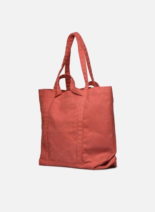 Handtaschen Bensimon Tote Surplus Canvas orange ansicht von rechts