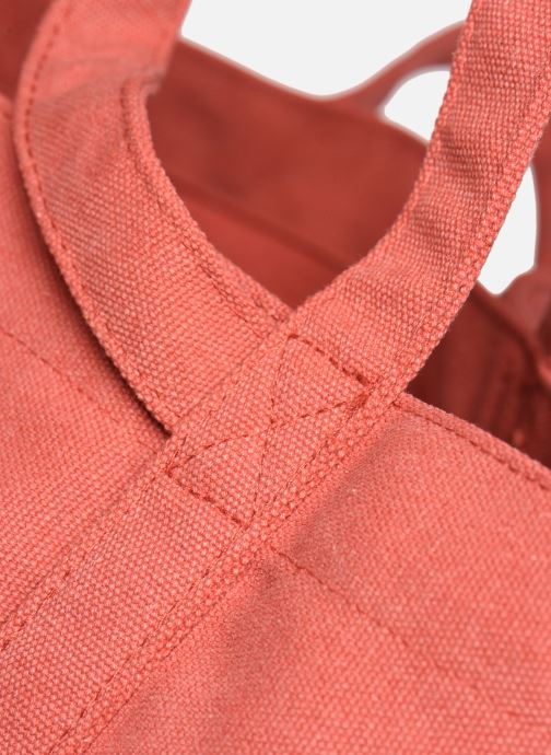 Handtaschen Bensimon Tote Surplus Canvas orange ansicht von hinten