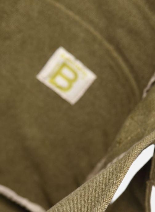Bolsos de mano Bensimon Besace Surplus Canvas Verde vistra trasera