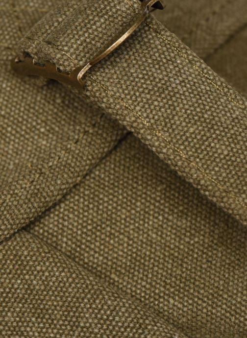 Bolsos de mano Bensimon Besace Surplus Canvas Verde vista lateral izquierda