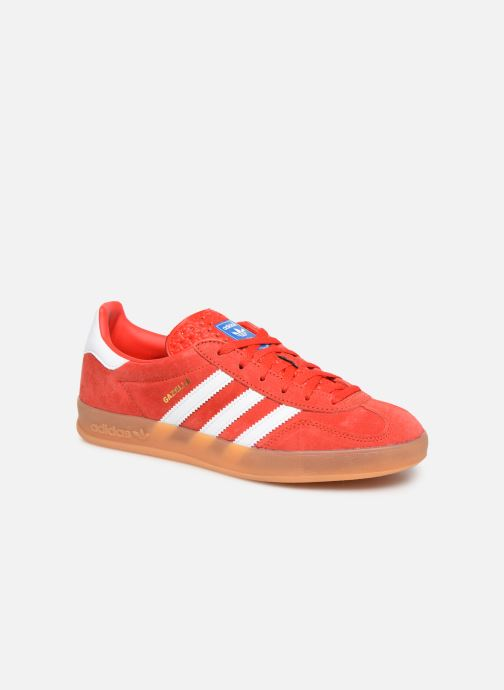 Trainers adidas originals Gazelle Indoor W Red detailed view/ Pair view