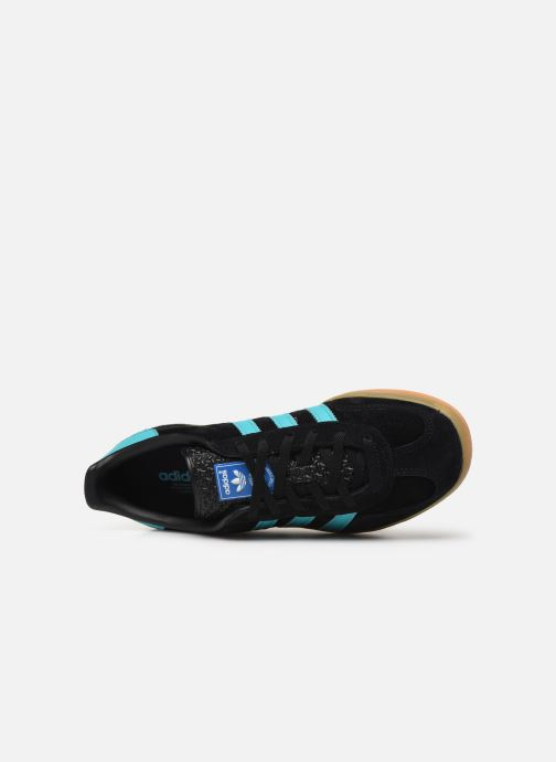 Trainers adidas originals Gazelle Indoor W Blue view from the left